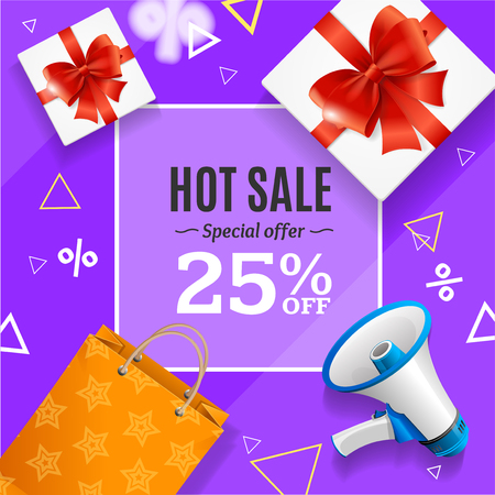 Big Sale Banner Card or Poster Vector.