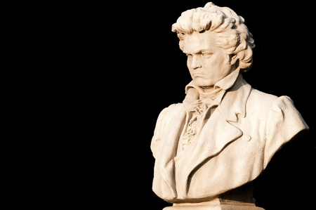 composer: Bust Of Ludwig Van Beethoven