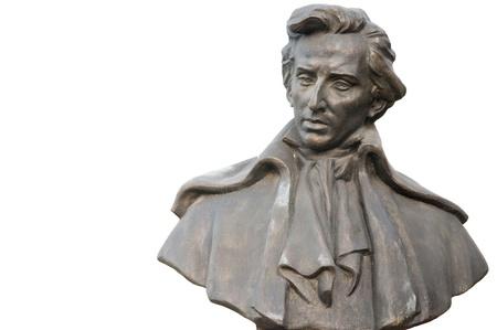 Bust Of Frederic Chopin Redactioneel