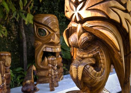 carving: Hawaian Tiki