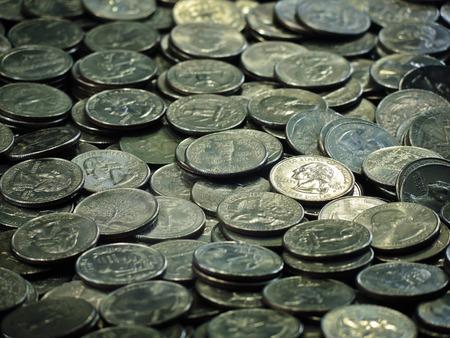 quarters: A bunch of quarters