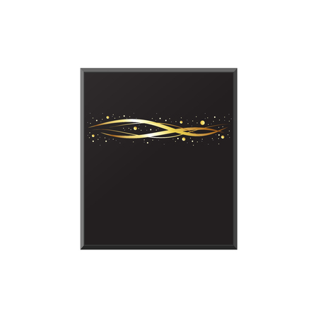 Holy Kaaba in Mecca. Hajj and umrah. Abstract illustration. Vector Illustration