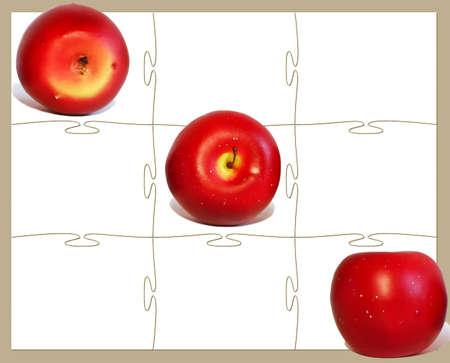 Tre mele rosse e Tris gioco