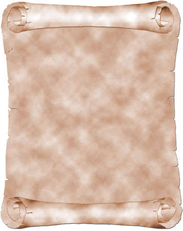 Antique sepia parchment Stock Photo