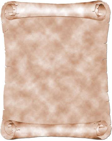 Antique sepia parchment Stock Photo