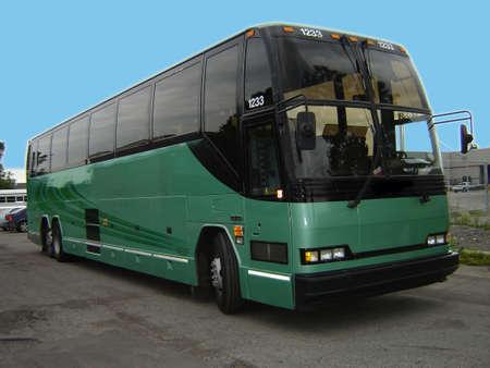 Great autobus in parking