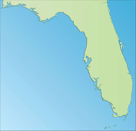 USA East Coast Map Stock Photo Picture And Royalty Free Image - Map of florida usa