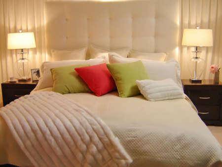 Modern design bedroom Stock Photo