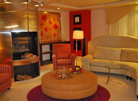 Modern design living-room