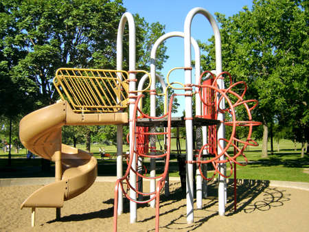 playground in park Stock fotó