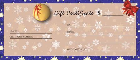christmas gift: Gift Certificate