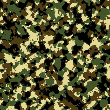 Naadloze: Camouflage leger patroon