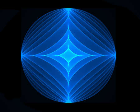 symetry: Blue target