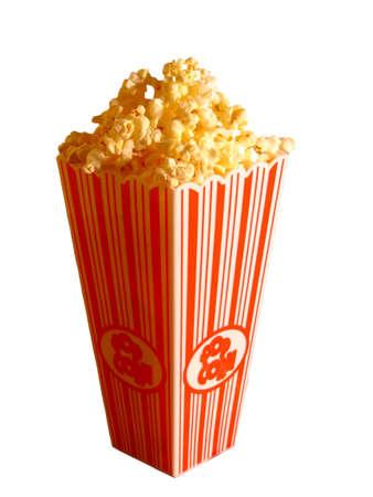 strip show:     Popcorn Stock Photo
