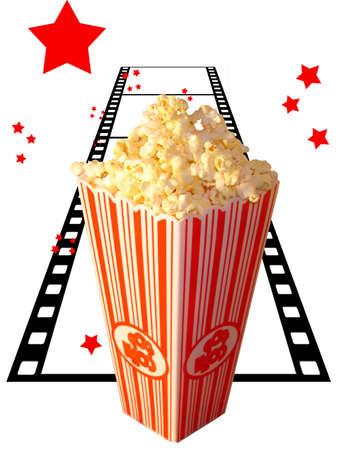 Popcorn en filmsterren
