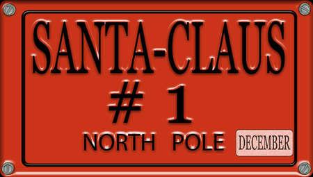 Santa Claus kenteken