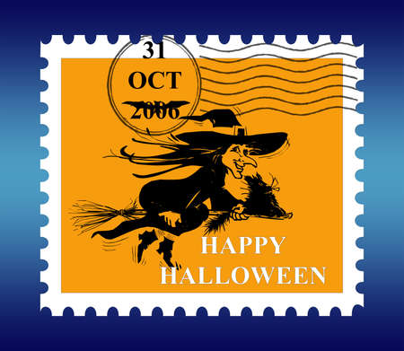 Halloween Stamp photo