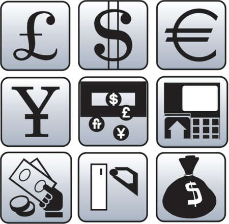 Currency and finance symbol
