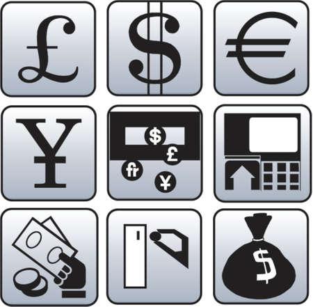 Monnaie et finance symbole