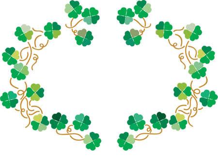 Floral Irish Stock Vector - 825777