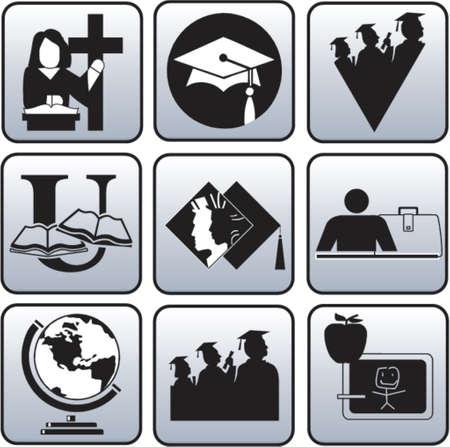 Graduate symbool Stockfoto - 825773