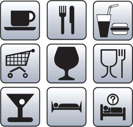 Hostelry, Alimentation symbol