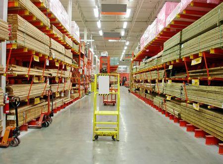Building materials store. 版權商用圖片 - 864947