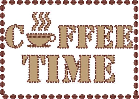 Coffee Time. Illustration