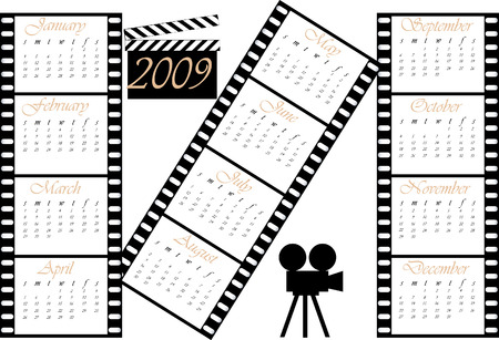 Calendar 2009 : Theme movie.