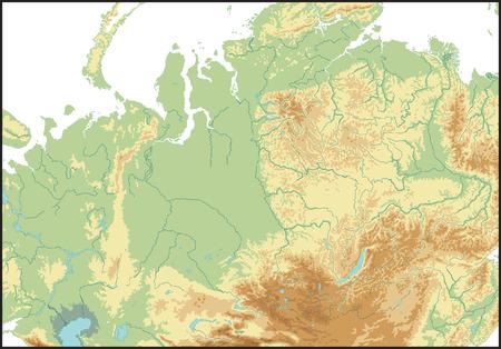 北アジアの救済。  イラスト・ベクター素材