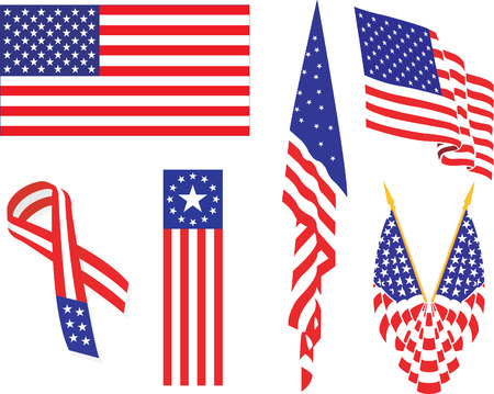 Americain flag.
