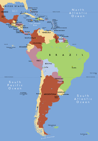 Zuid-Amerika.