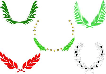 Five antiquity decoration. Reklamní fotografie - 4753156