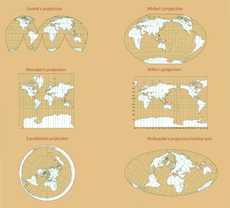 世界の視点。 写真素材 - 5022657