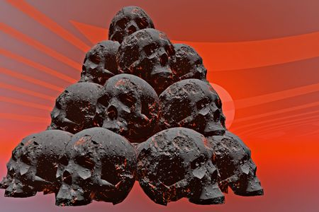 Damnation Skull. Stock Photo - 5283006