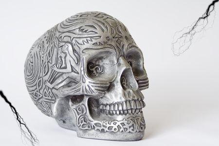 Halloween skull.