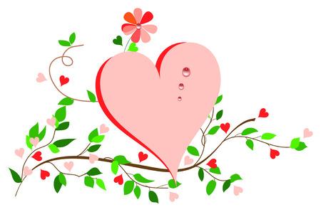 Simplicity Heart. Ilustração