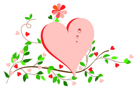 Simplicity Heart. 일러스트