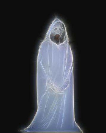 Abstract Ghost 版權商用圖片 - 6775931