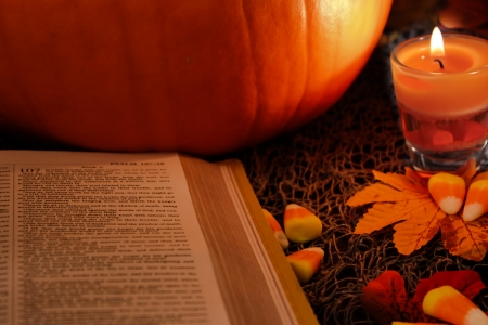 Happy Thanksgiving and Holy Bible.