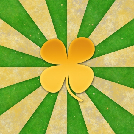 Vintage background for St patrick day. Stock Photo - 17570185