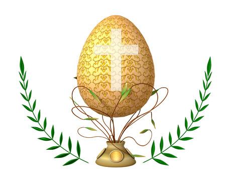 Easter Religious. 版權商用圖片