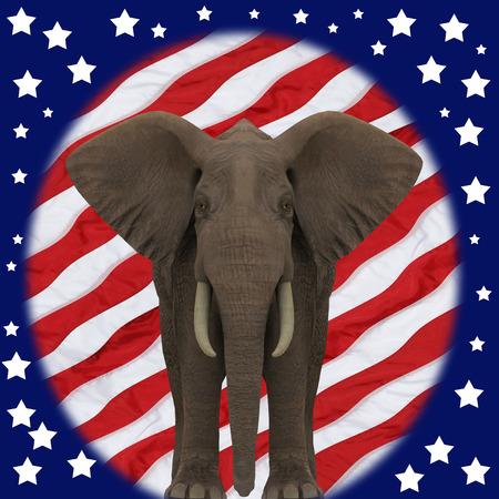 Republican Elephant.