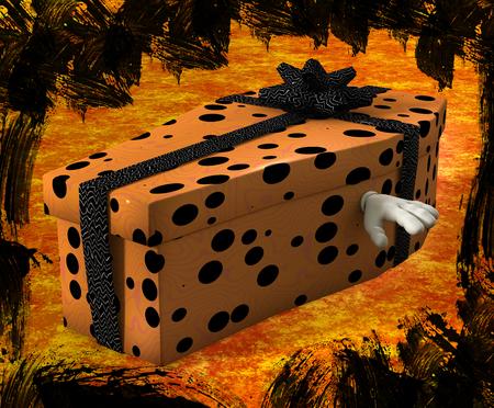 Halloween gift. 版權商用圖片