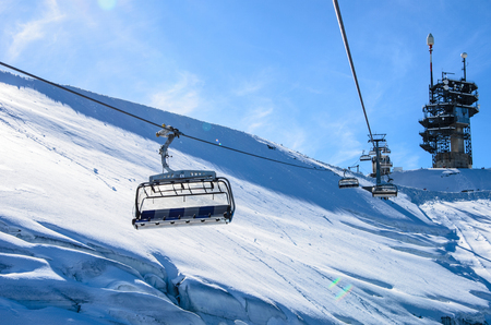 Cable car at Titlis, Switzerland