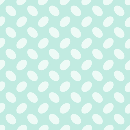 Seamless geometric pattern easter eggs on light green background stripes abstract template vector illustration