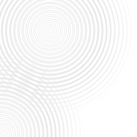 Abstract rings sound oscillating white light, circle spin soft background