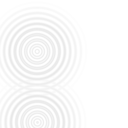 White circle spin effect, abstract background