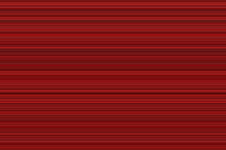 Red digital sound wave horizontal pattern or speed lines, abstract background Banco de Imagens