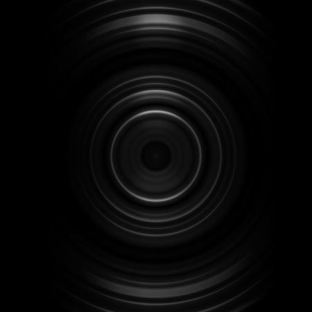 Abstract white camera lens shutter on black background Imagens